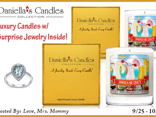 Daniella's Candles w/ Jewelry Prize Pack Giveaway!