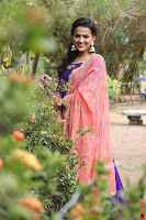 Actress Shraddha Srinath in Purple Chania Choli Cute Pics ~  Exclusive 30.jpg