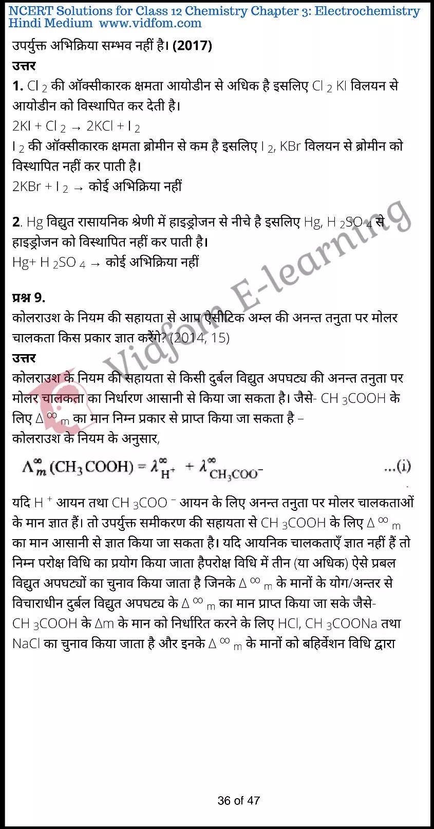 class 12 chemistry chapter 3 light hindi medium 36