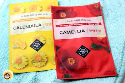 ETUDE HOUSE Calendula & Camellia Sheet Masks, NBAM Blog