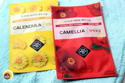 ETUDE HOUSE Calendula & Camellia Sheet Masks, NBAM Blog