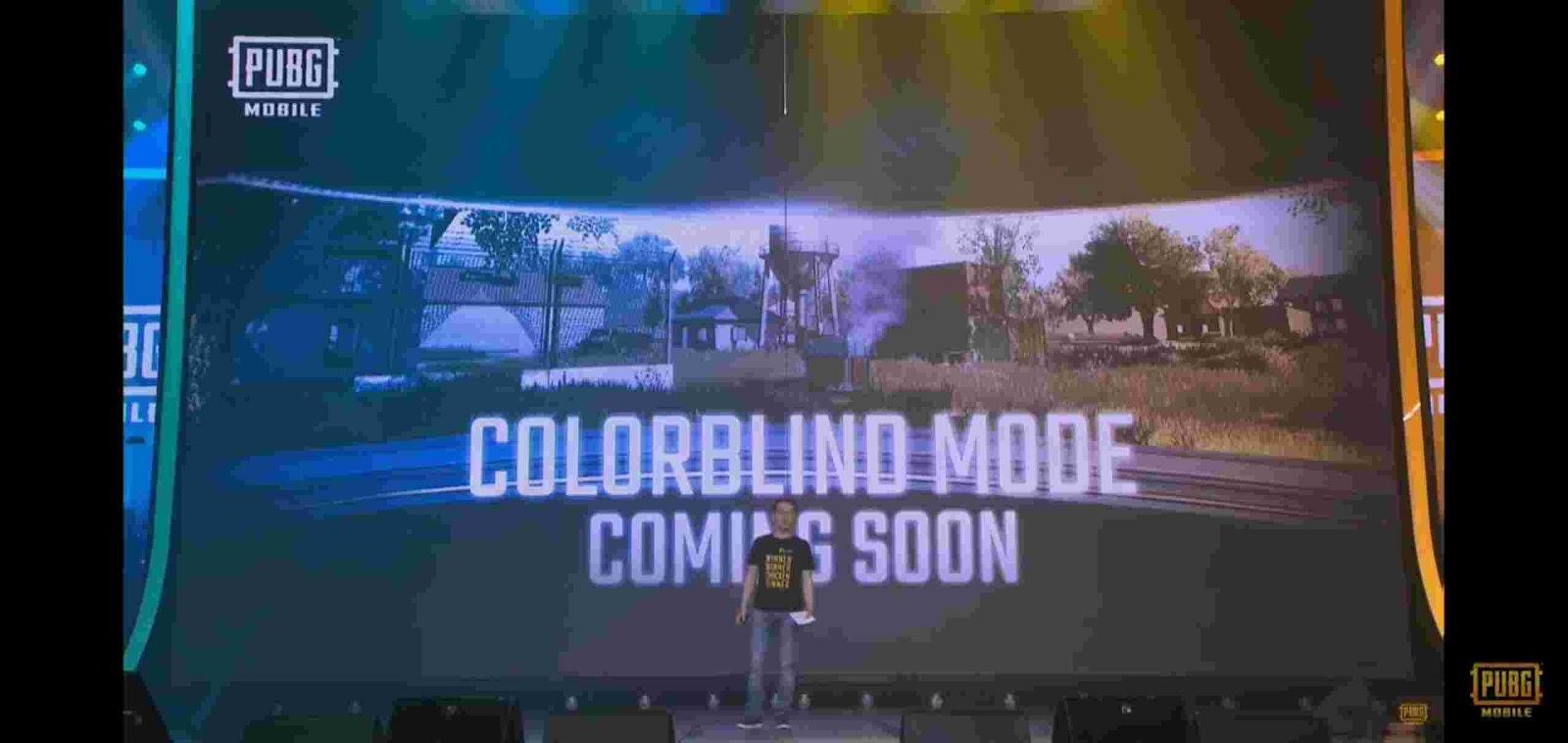 Colour Blind PUBG Mobile 0.17 Update