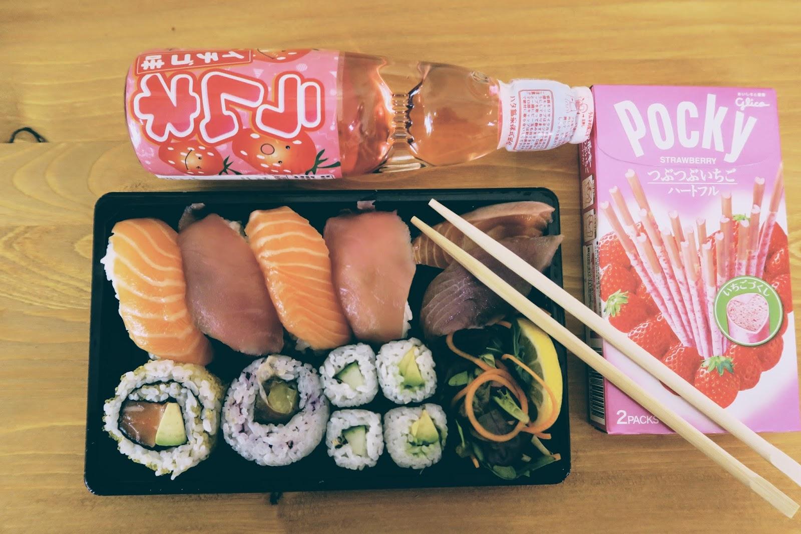 go ninja sushi edinburgh liquid grain liquidgrain kathryn scotland