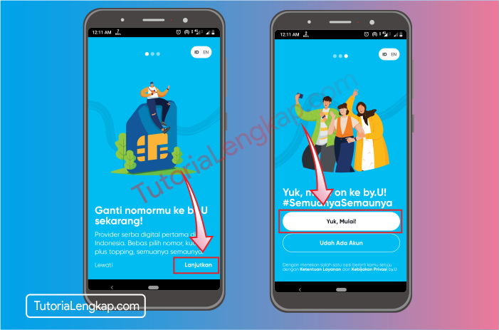tutorialengkap 3 Cara Membuat Akun By.U untuk memesan SIM Card Secara Online