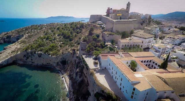 Hotéis no centro turístico de Ibiza
