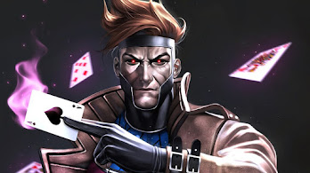 Gambit, Cards, Marvel, Comics, 4K, #6.2081
