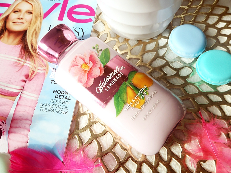 BBW watermelon lemonade, Bath and body works body lotion