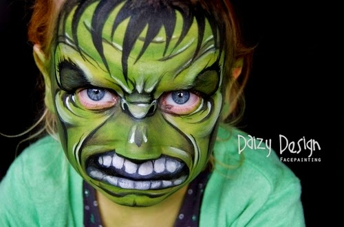 14-Christy Lewis Daizy-Face Painting - Alternate Personalities-www-designstack-co