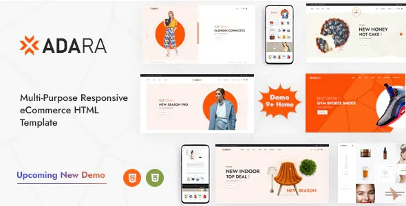 Best Modern and Multipurpose eCommerce Template