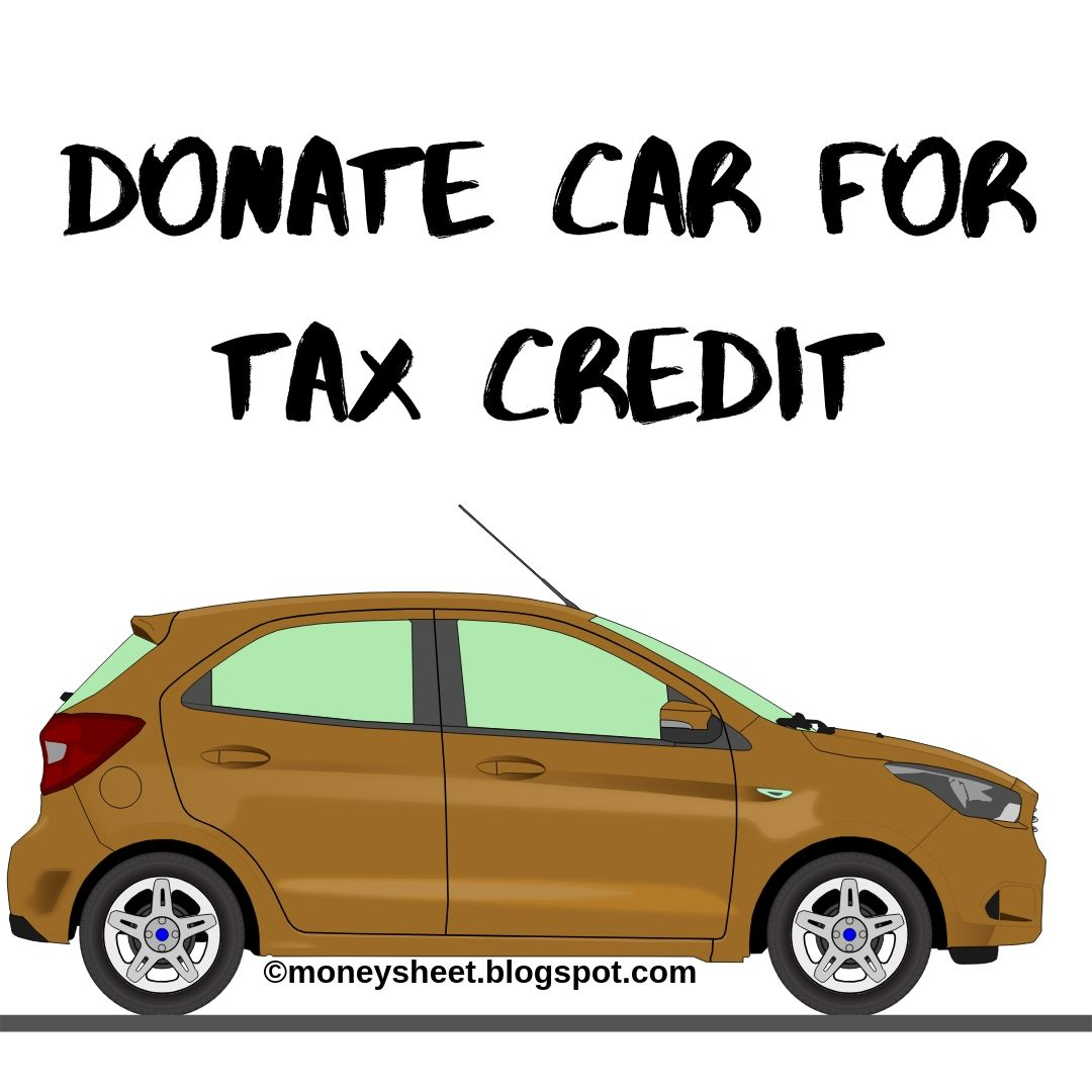 Donate A Car For Tax Credit