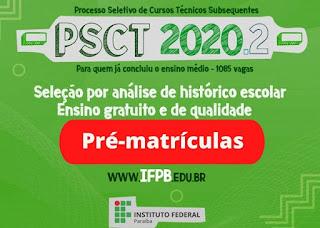 IFPB Campus Picuí realizará matrículas exclusivamente online