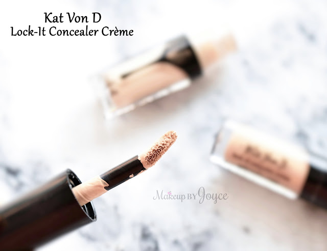 Kat Von D Lock-It Concealer Creme Review Applicator