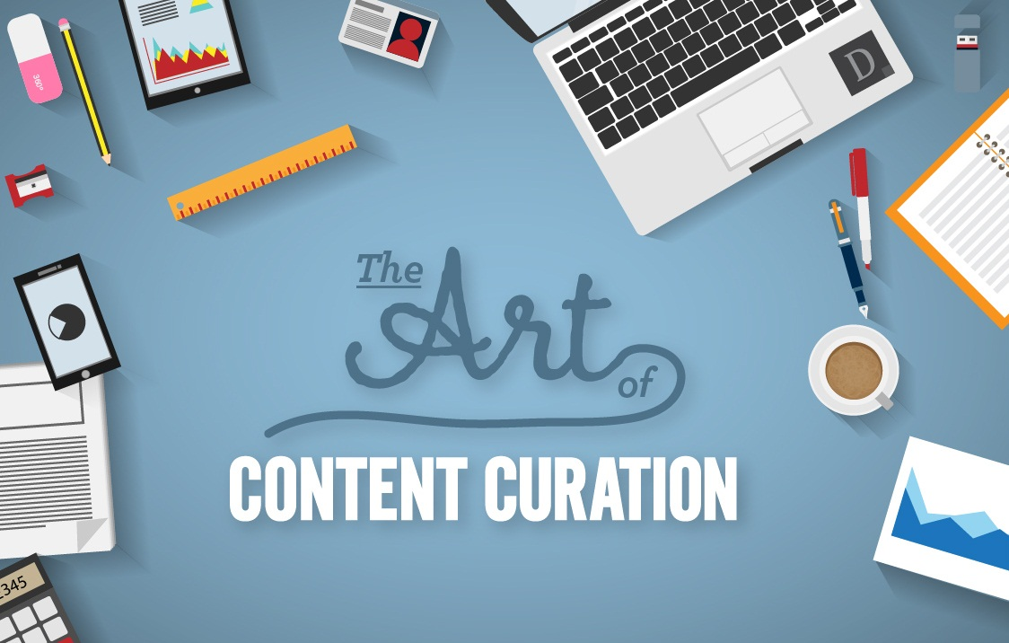 The Art Of Content Curation an #infographic - #contentmarketing