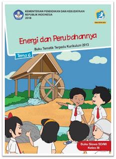 download gratis buku tematik kelas 3 tema 6