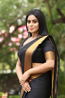 Poorna in Cute Backless Choli Saree Stunning Beauty at Avantika Movie platinum Disc Function ~  Exclusive 142.JPG