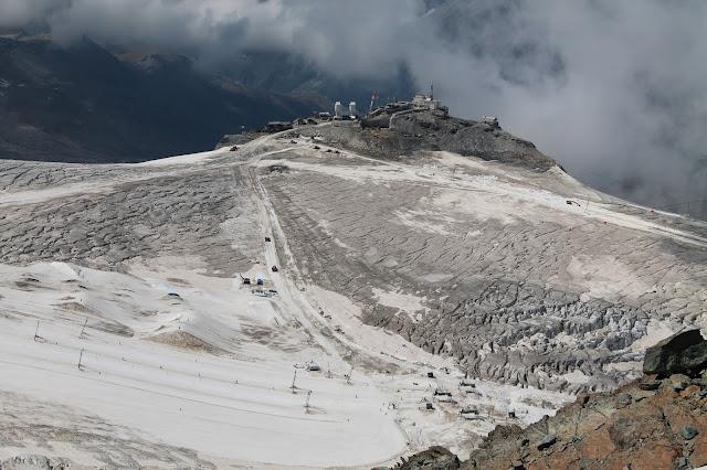Matterhorn geology Zermatt Alps Switzerland Glacier Paradise copyright RocDocTravel.com
