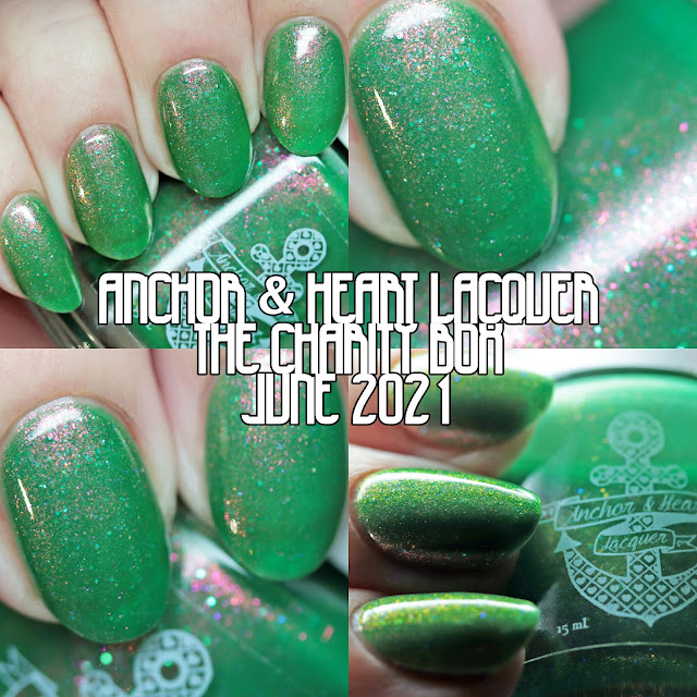 Anchor & Heart Lacquer The Charity Box Out of This World June 2021