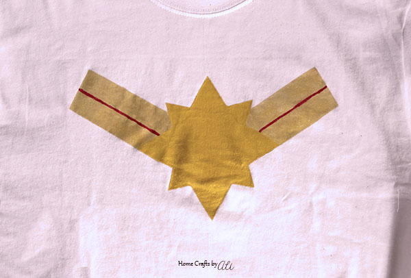 Quick and Easy to Make Captain Marvel Shirt Tutorial
