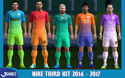 PES 2013 Nike Third Kits 2016-2017 by Jefries6