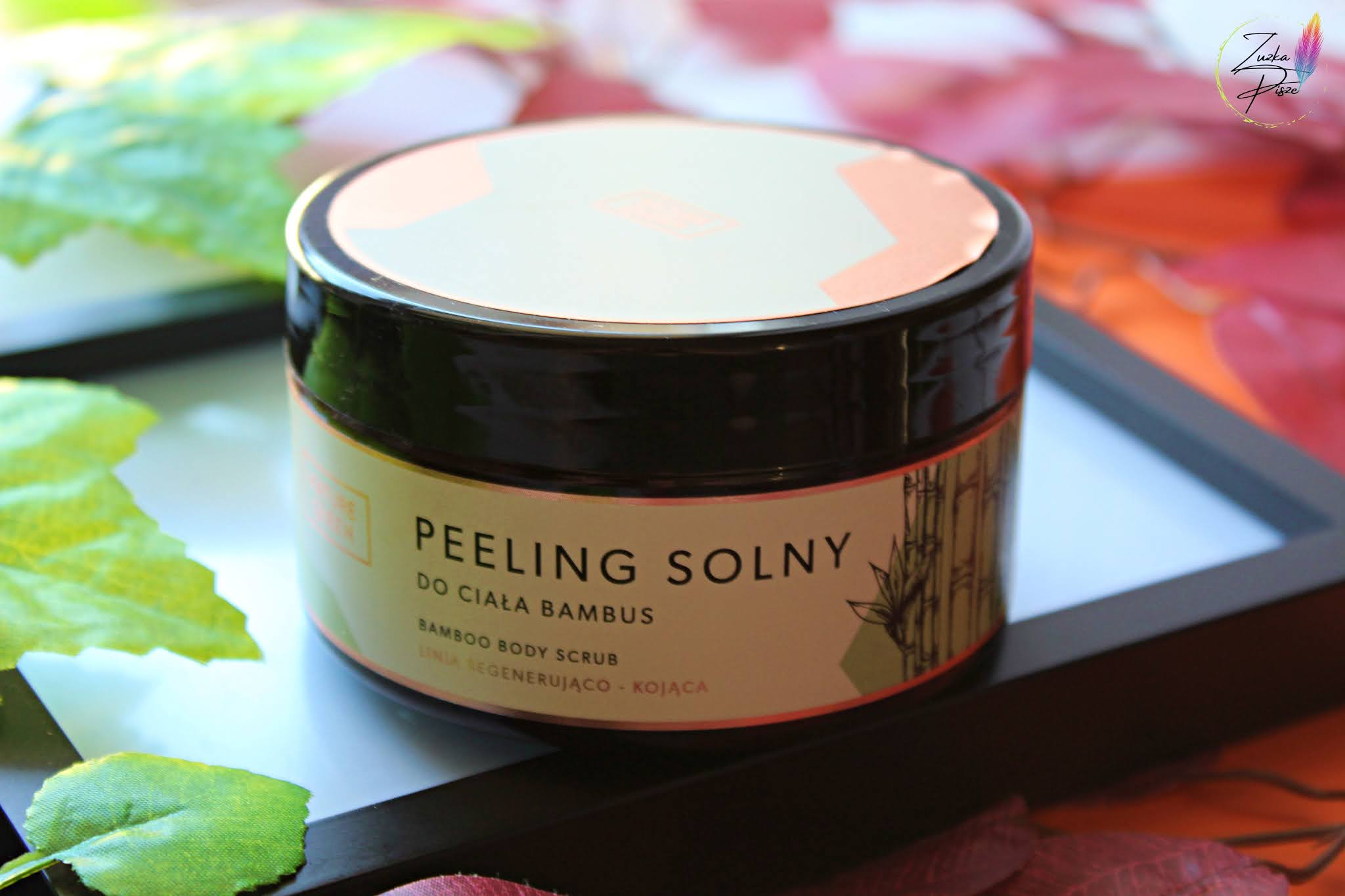 Peeling solny do ciała Bambus - Nature Queen