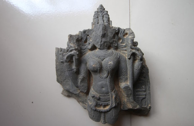 800 year old temple, unique goddess idol unearthed in Bangladesh