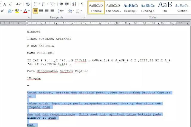 Cara Menyalin Teks Tulisan Dari Gambar ke Ms Word-4