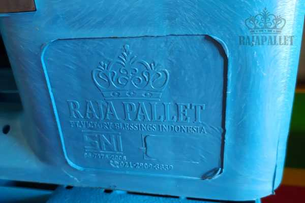 Pallet Plastik Baru 1200x1000x160 mm Murah Bisa Racking