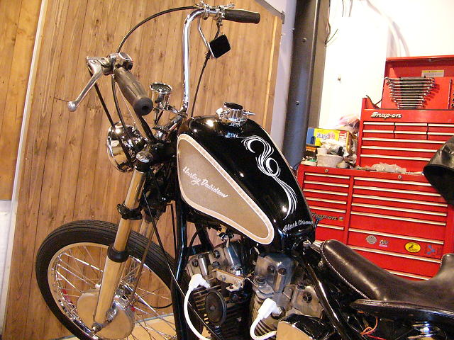 Harley Davidson Shovelhead By Black Chrome Bike Works Hell Kustom