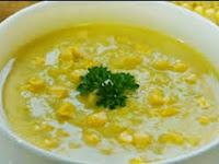 Resep cara membuat soup jagung spesial Manis