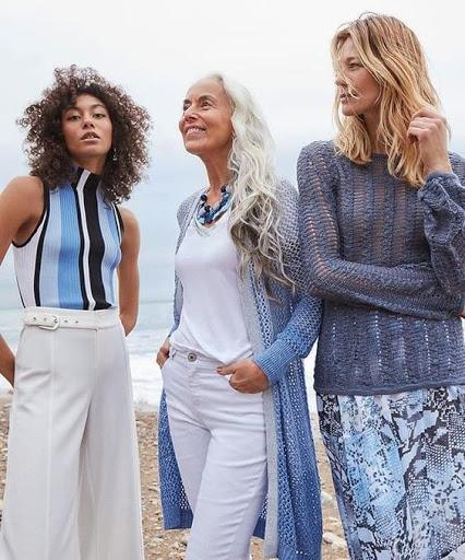 Blue Beach Style Fashion Pieces