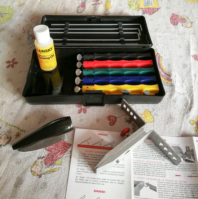 costruzione coltello pieghevole in corno come affilare coltelli kit lansky