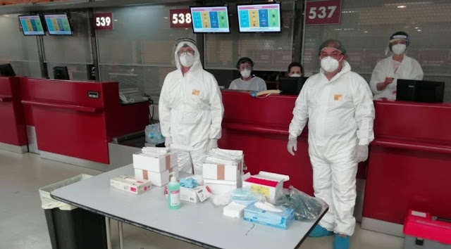 Italia, tampone gratuito in aeroporto per i passeggeri albanesi