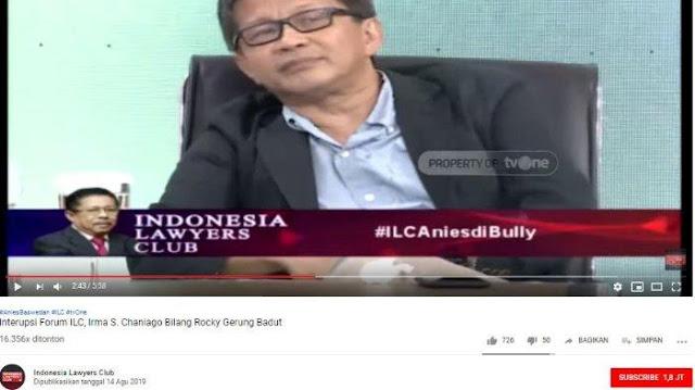 Sarankan Hal Ini pada Anies Baswedan, Rocky Gerung: Kita akan Hentikan Jakarta Dipenuhi Para Badut