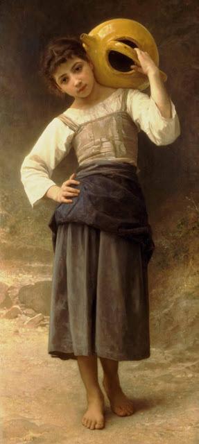 Адольф Вильям Бугро - Водонос (1885)