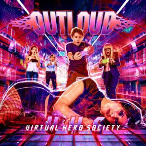 Outloud, Virtual Hero Society (Rock Of Angels Records September 14, 2018)