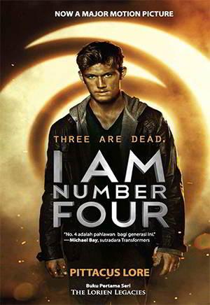 sembilan anak dilarikan dari planet Lorien yang hancur karena perang I Am Number Four The Lorien Legacies 1 PDF Karya Pittacus Lore