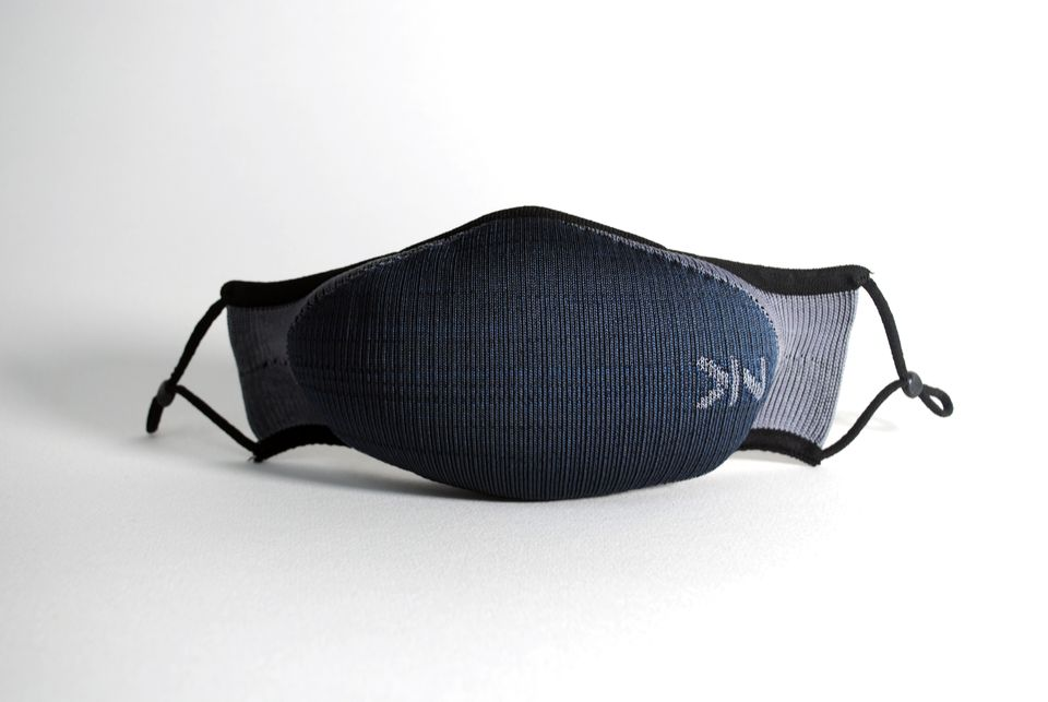 3d-knit sustainable face masks