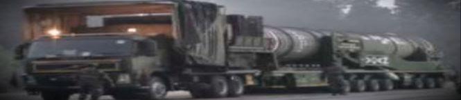 Agni-V Cannister Based Image On Multi-Axle Truck Breaks Cover On Social Media