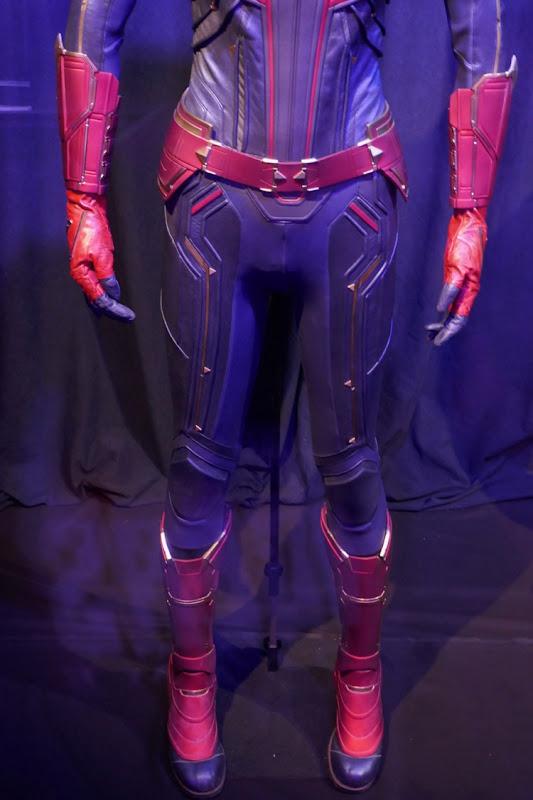 Avengers Endgame Captain Marvel costume legs