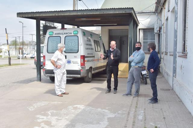 Nueva obra para mejorar la atención de pacientes con covid en el hospital municipal