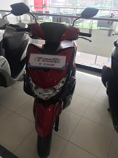 Yamaha Freego Red