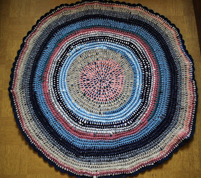 Kolejny recyklingowy dywanik