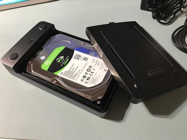 USB typeC HDDケース&4TB HDD写真3