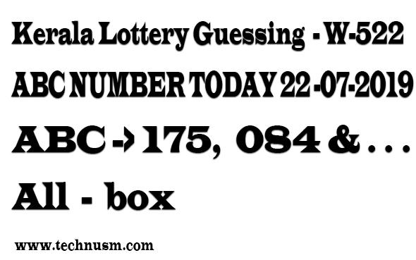 kerala Lottery guessing,