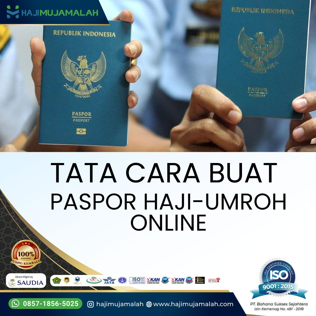 Cara dan Persyaratan Membuat Paspor Haji Umroh Secara Online