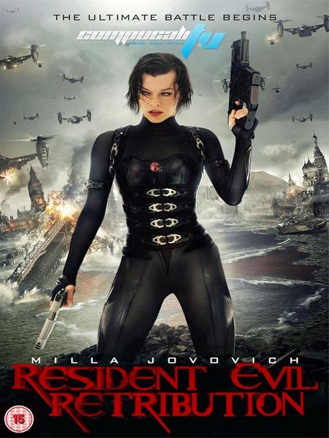 Resident Evil 5 Retribution DVDR NTSC Español Latino Menú 2012