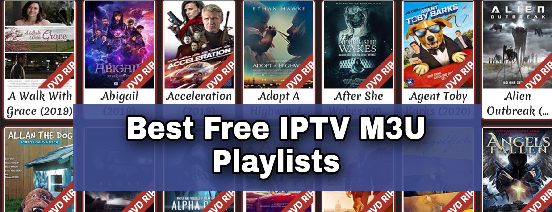Free iptv m3u playlist URL free