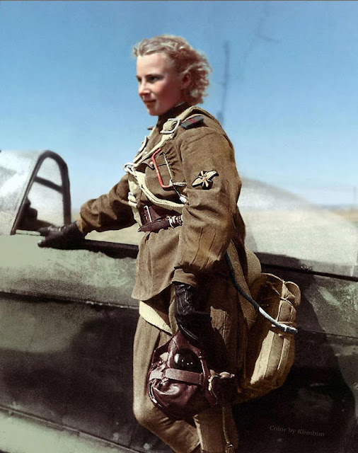 Lydia Litvyak, female fighter ace of World War II worldwartwo.filminspector.com