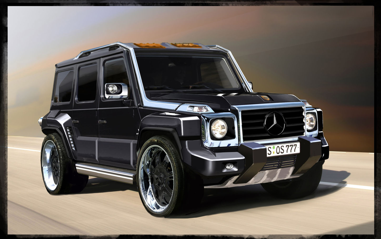 Car Amp Bike Fanatics Tuned Mercedes Benz G550