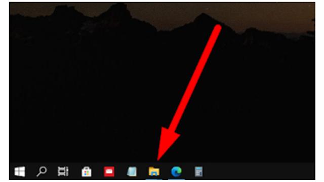 2 Cara Menampilkan File Explorer Di Taskbar Windows 10